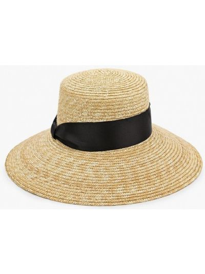Бежевые шляпа с широкими полями Ruxara