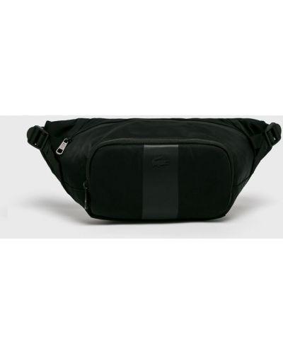 Поясная сумка универсальный черная Lacoste