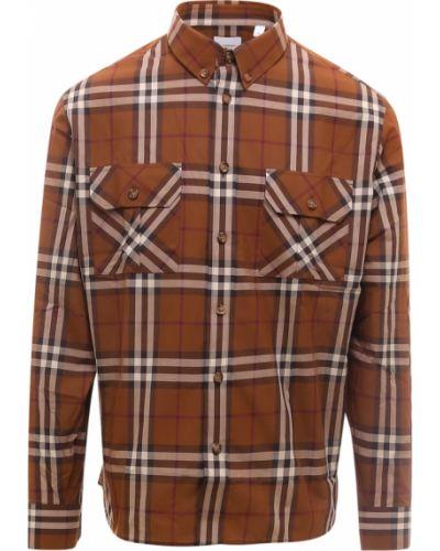 Koszula - brązowa Burberry