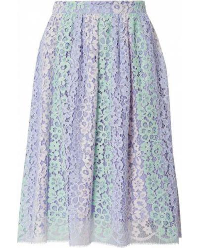Fioletowa spódnica koronkowa bawełniana Blugirl Folies