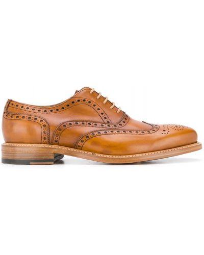 Оксфорды коричневый с перфорацией Berwick Shoes