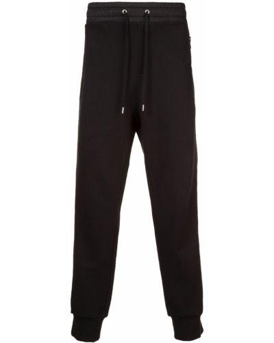 Спортивные брюки черные с поясом Public School