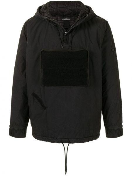 Стеганая куртка - черная Stone Island Shadow Project