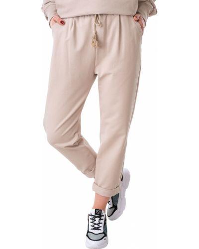 Бежевые спортивные брюки Imperial