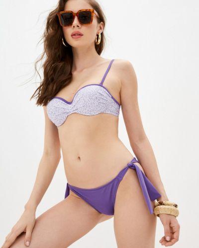 Фиолетовый слитный купальник Dali