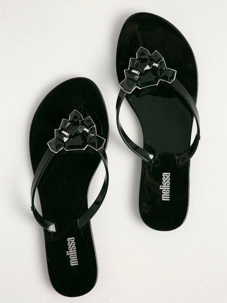 Гармошкой сандалии с камнями Melissa