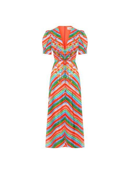 Платье шелковое Saloni
