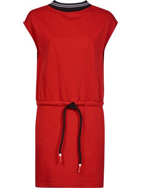 Хлопковое платье - красное Frankie Morello