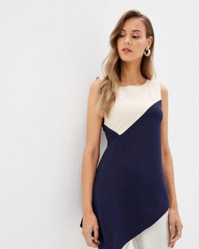 Блузка без рукавов синяя Love Republic