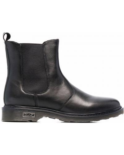 Кожаные ботинки - черные Cult
