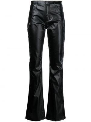 Черные джинсы со средней посадкой Ralph Lauren Collection