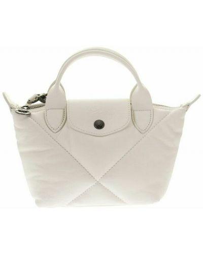 Biała torebka Longchamp