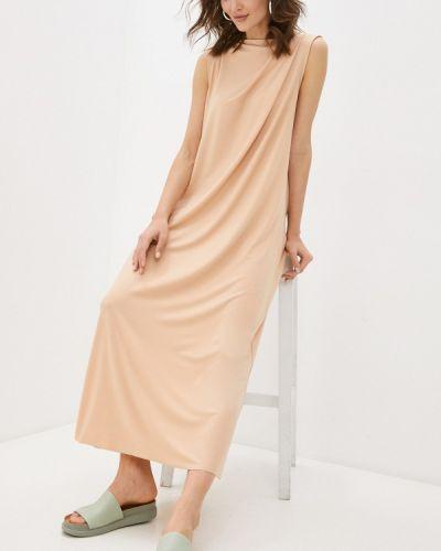 Платье - бежевое Vivostyle
