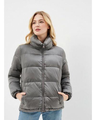 Утепленная куртка весенняя серая Grishko