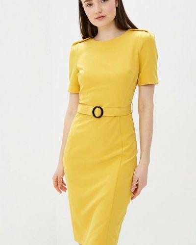 Платье футляр желтый Vittoria Vicci
