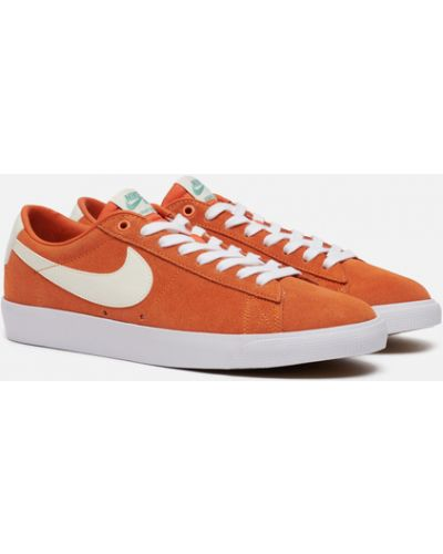 Оранжевые резиновые кроссовки Nike Sb