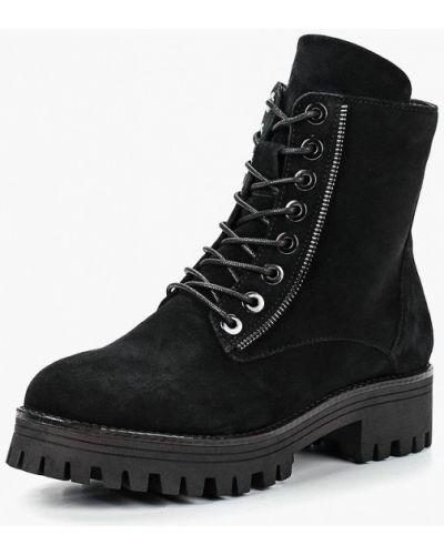 Ботинки на каблуке осенние черные Dolce Vita