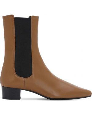 Ботинки на каблуке без каблука с острым носком The Row