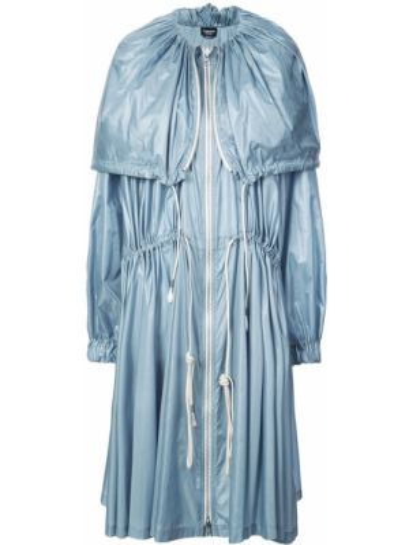 Синий длинное пальто свободного кроя ниже колена Calvin Klein 205w39nyc