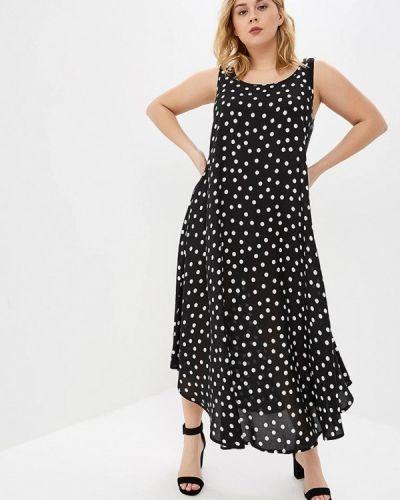 Платье - черное Ulla Popken