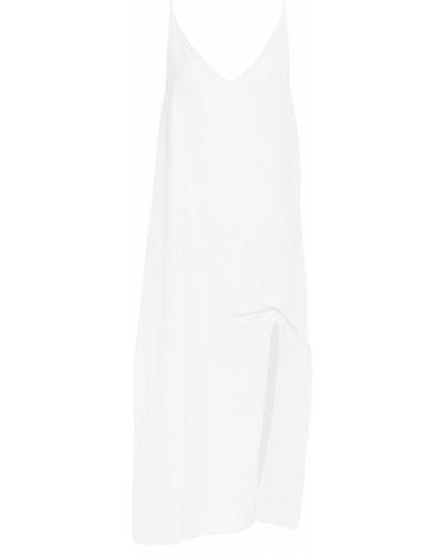 Льняное платье миди - белое Seafolly