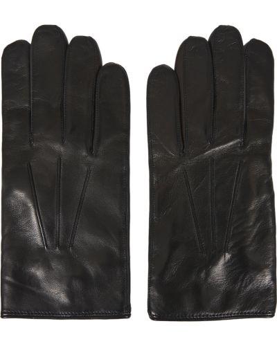 Czarne rękawiczki Paul Smith