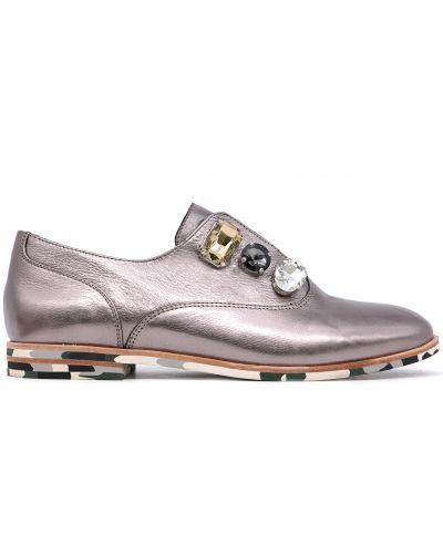 Туфли - серебряные Bosca
