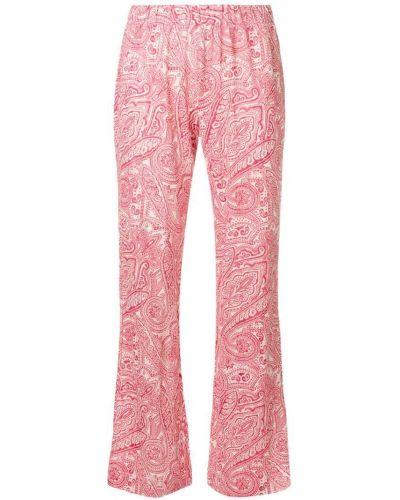 Льняные брюки - красные Le Tricot Perugia