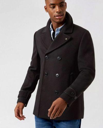 Черное пальто Burton Menswear London