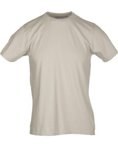 Beżowa t-shirt Colorful Standard