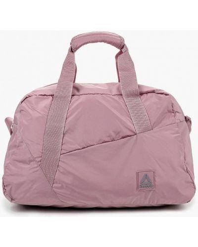 Розовая спортивная сумка Reebok