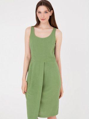 Прямое платье - зеленое Gregory