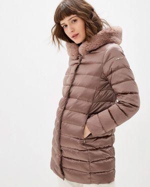 Зимняя куртка осенняя розовая Geox