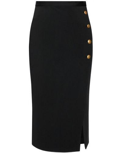 Czarna spódnica midi Pinko