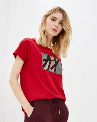 Красная футболка 2019 Armani Exchange