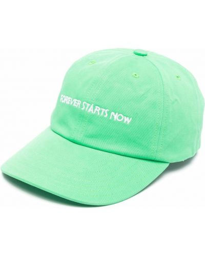 Zielona czapka z daszkiem Nasaseasons