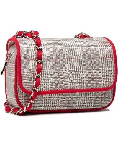 Szara klasyczna torebka Menbur