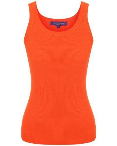 Шелковая майка - оранжевая Ralph Lauren