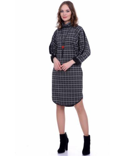 Платье миди спортивное платье-свитер Lautus