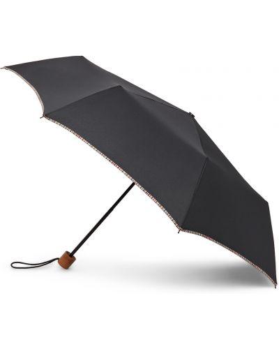 Parasol w paski - czarny Paul Smith