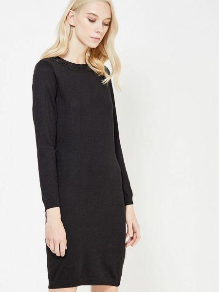 Повседневное платье черное весеннее Blugirl Folies