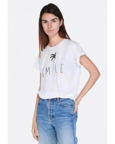 Пляжная белая футболка Lotto