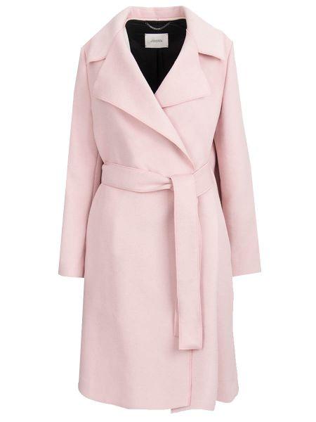Шерстяное пальто - розовое Dorothee Schumacher