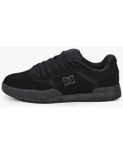 Черные пинетки из натуральной кожи Dc Shoes
