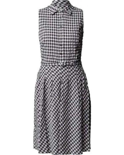 Niebieska sukienka mini bez rękawów Lauren Ralph Lauren