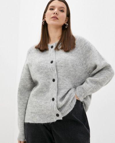 Серый зимний кардиган Selected Femme