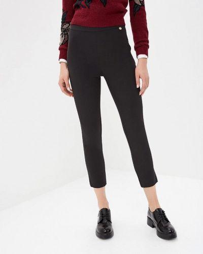 Черные брюки повседневные Blugirl Folies