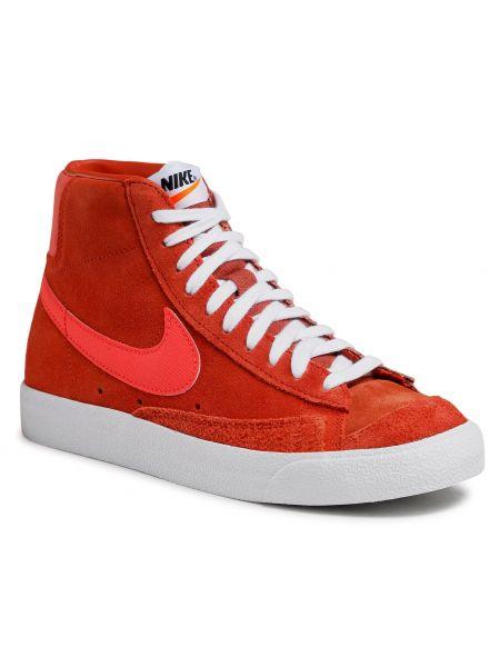 Marynarka zamszowa - pomarańczowa Nike