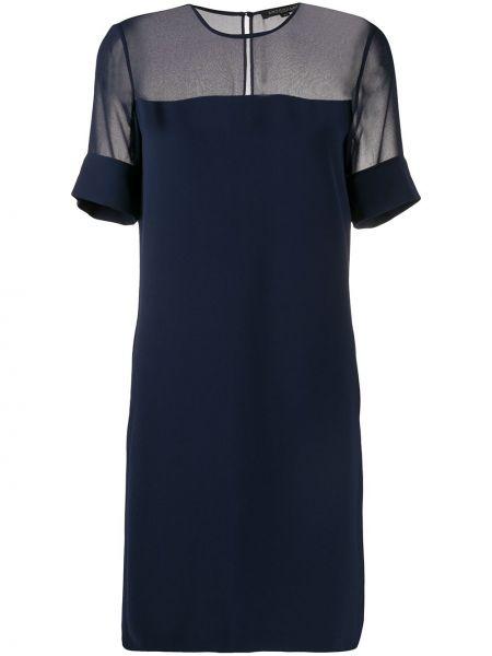 Платье мини на пуговицах со вставками Antonelli