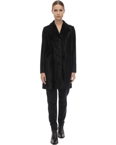 Czarna kurtka bawełniana Palto